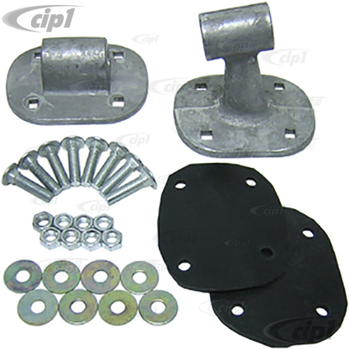 C21-T2-ROOF - ROOF MOUNTING BRACKETS - FRONT AND REAR FOR WESTY TENT FRAME C21-6500 - SET