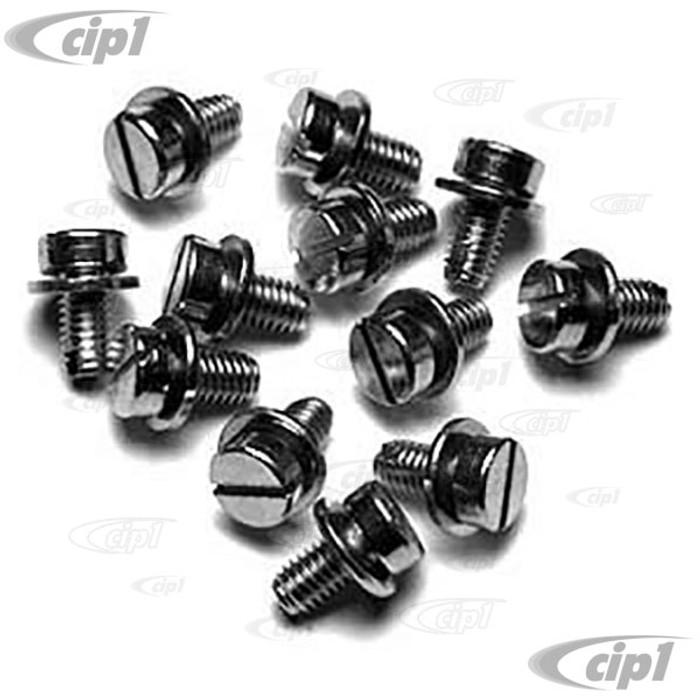 ACC-C10-5456 - (N0107108A VHD-NST-6126) - ENGINE TIN/SHROUD SCREW KIT - SET OF 12