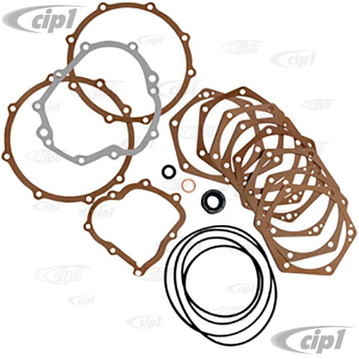 C24-111-398-005-P - GERMAN MADE KIT - MANUAL SWING AXLE TRANSMISSION GASKET SET - BEETLE 61-68 / GHIA 61-68 / BUS 61-67 / TYPE-3 62-67 - SOLD KIT