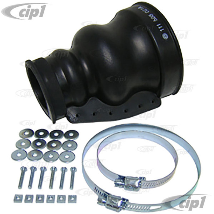C24-111-598-021-A - GENUINE GERMAN - AXLE BOOT KIT - ALL SWING AXLE BEETLE / GHIA / BUS / TYPE-3 - SPLIT STYLE BOOT FOR EASY INSTALLATION - SOLD EACH - 2 PER CAR REQUIRED