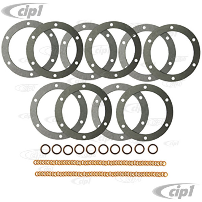 C24-113-198-031-10 - OE GERMAN MADE - OIL CHANGE GASKET KITS - PACK OF 10 KITS - ALL 1200CC-1600CC BEETLE STYLE ENGINES - PACK OF 10 KITS
