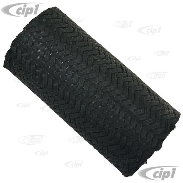C24-113-201-219-A - (113201219A) - OE QUALITY BRAIDED CLOTH COVER - 2 INCH I.D. X 5 INCHES LONG - FUEL FILLER CONNECTOR HOSE - BEETLE 68-79 - THING 73-74 - 2 PCS REQUIRED - SOLD EACH