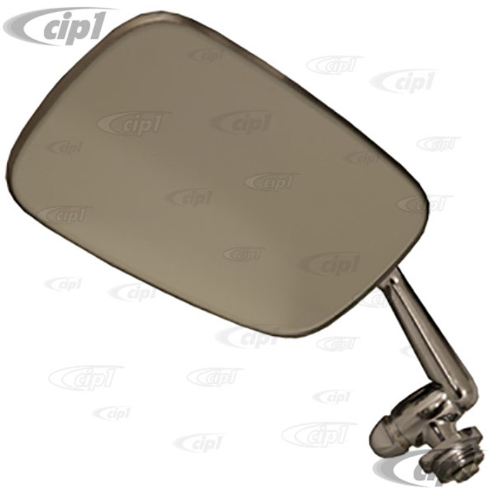 C24-151-857-501 - (151857501) - OUTSIDE MIRROR LEFT - BEST QUALITY - CONVERTIBLE BEETLE 68-79 - SOLD EACH