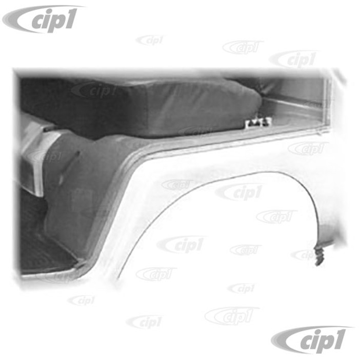 C24-234-863-665 - (234863665) SEAT STAND RUBBER MAT SET - GREY – FOR LEFT AND RIGHT SEATS – BUS 63-67 (SEE NOTES ABOUT COLOR) - SOLD PAIR