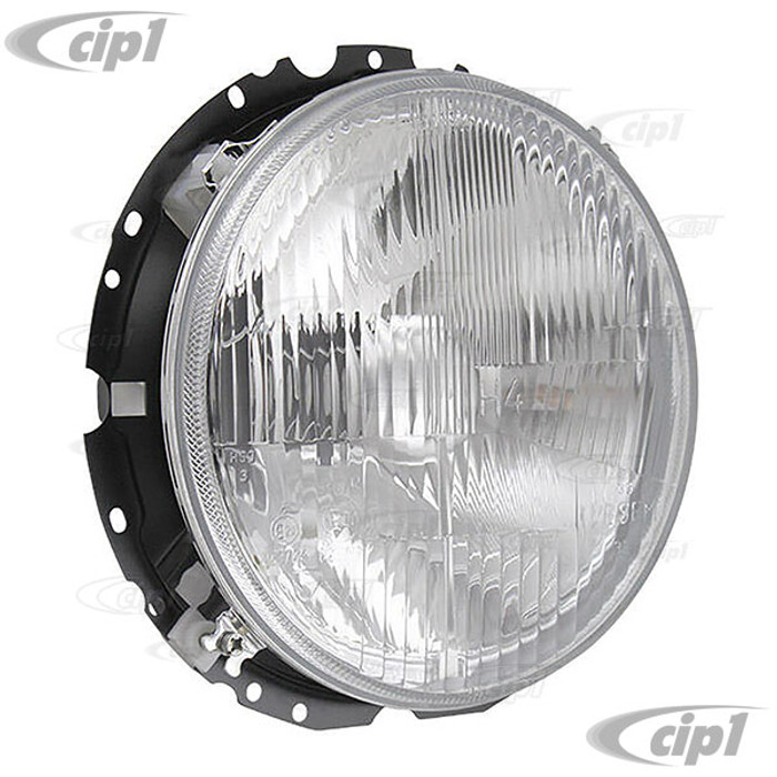 C24-BAA-941-751-A - (BAA941751A) - OE QUALITY - 12 VOLT HEADLIGHT ASSEMBLY WITHOUT BULB (SEE C13-16-9168) - BEETLE 67-79 / BUS 68-79 / TYPE-3 64-74 / THING 73-74 (WILL NOT FIT KARMANN GHIA) - SOLD EACH