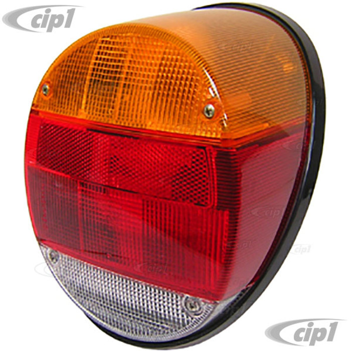 C24-BAA-945-095-A - (BAA945095A) GENUINE HELLA - COMPLETE TAIL LIGHT ASSEMBLY LEFT OR RIGHT (BULBS AND WIRING NOT INCLUDED) - BEETLE 73-79/THING 73-74 - SOLD EACH