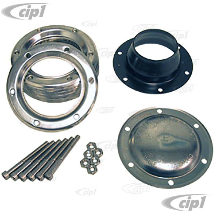 C26-251-076 - 4 INCH DIAMETER SPARK ARRESTOR - WELD-ON STYLE - FITS 2 INCH PIPE