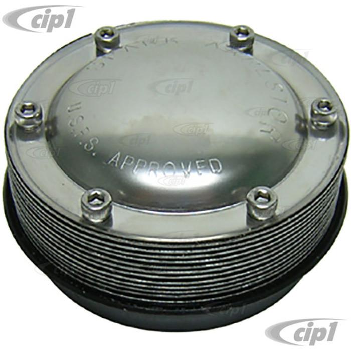 C26-251-076-35 - 4 INCH DIAMETER SPARK ARRESTOR - WELD-ON STYLE - FITS 3-1/2 INCH PIPE