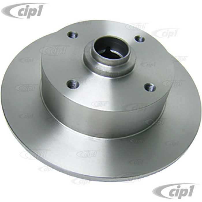 C26-407-075 - 4X130MM FRONT ROTOR FOR KING-LINK SPINDLES - DRILLED FOR 14MM BOLT HOLES - (NOT FOR BALL-JOINT SPINDLES) SOLD EACH - (A20)