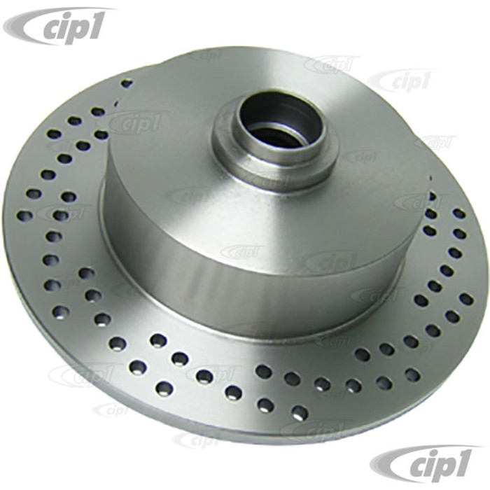 C26-407-075VN - UNDRILLED BLANK FRONT ROTOR FOR KING-LINK SPINDLES - (NOT FOR BALLJOINT SPINDLES) SOLD EACH - (A20)