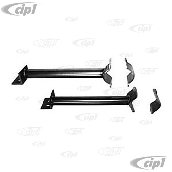 C26-413-151 - LOWER FRONT END SUPPORT TUBES W/CAPS PAIR