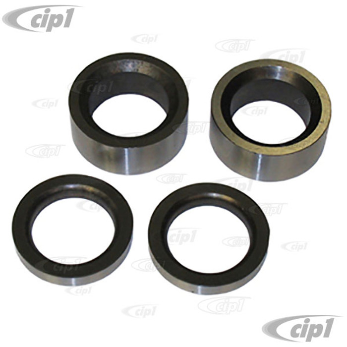 C26-520-100 - SWING AXLE SPACER 4 PIECE SET - STOCK WIDTH - ALL BEETLE STYLE SWING AXLE TRANSMISSIONS