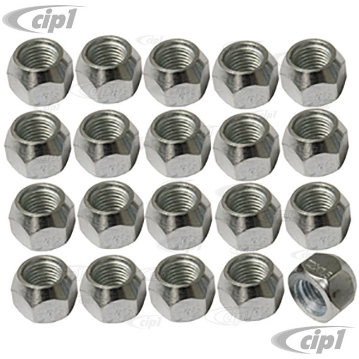 C26-603-115 – 20 PIECE 12MM NUT SET – 60 DEGREE TAPER – PERFECT FOR ADAPTERS – 20 PIECE SET