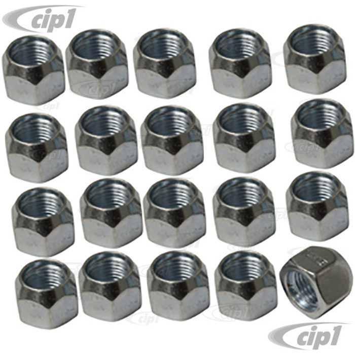 C26-603-116 – 20 PIECE 14MM NUT SET – 60 DEGREE TAPER – PERFECT FOR ADAPTERS – 20 PIECE SET