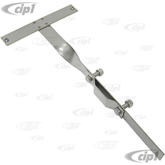 C26-707-710 - D-PLATE BUMPER BRACKET ONLY - BEETLE 46-67 - SOLD EACH