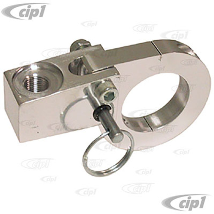 C26-755-125P-1.75 - BILLET ALUMINUM WHIP ANTENNA MOUNT - FOLD/KNOCK DOWN STYLE FOR 1-3/4 INCH TUBING - SOLD EACH