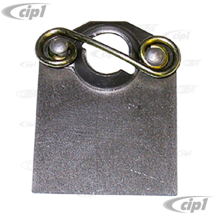 C26-823-001 - DZUS FASTENER TAB WITH SPRING ATTACHED