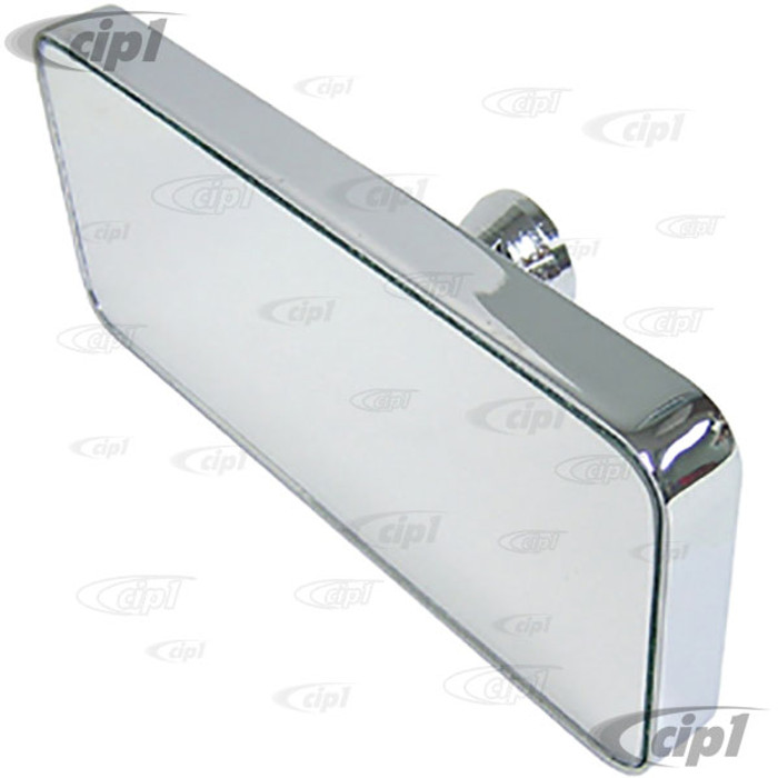 C26-857-805 - BILLET GLUE ON MIRROR - 5-1/2 X 2-3/8 INCH (140MM X 60MM) - GLUE NOT INCLUDED