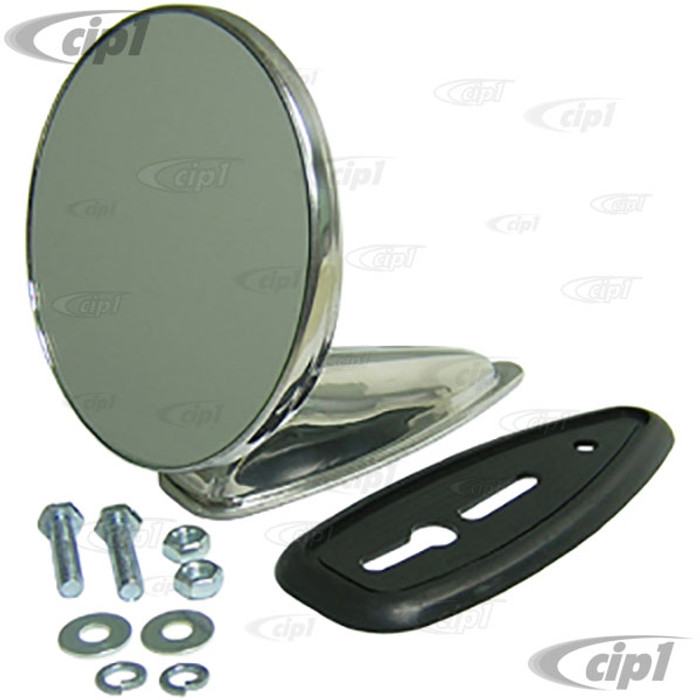 C26-857-847 - CUSTOM FENDER MOUNT 4-1/4 INCH ROUND - UNIVERSAL - LEFT OR RIGHT - SOLD EACH