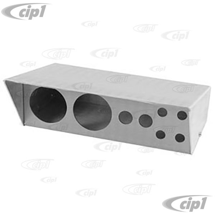 C26-903-051 - ALUMINUM SWITCH BOX 9 IN WITH HOLES