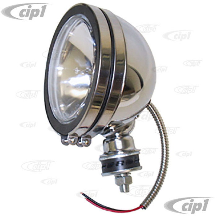 C26-941-521 - 6 IN CHROME OFF-ROAD LIGHT - SOLD EACH