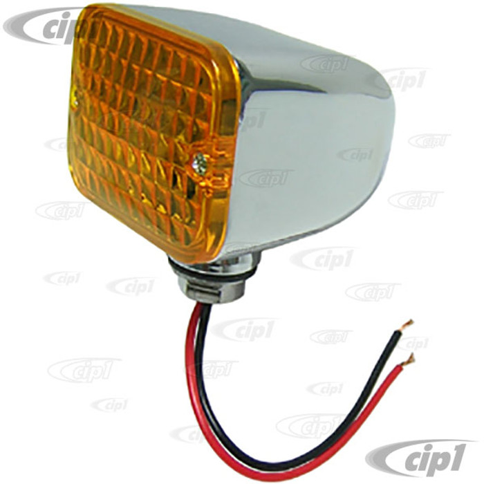 C26-945-185A - MINI TAILLIGHT-AMBER LENSE - SOLD EACH