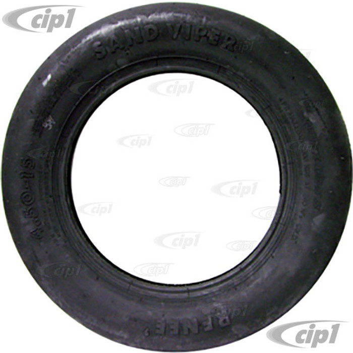 C26-SV450 - SMOOTH FRONT SAND TIRE-4.50X15 - -SOLD EACH - (A25)