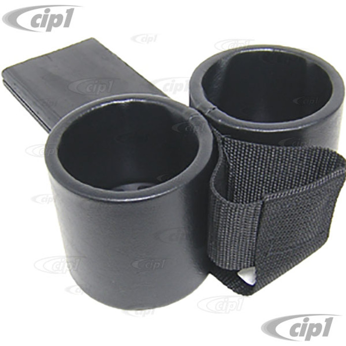 ACC-C10-9108-C - ASHTRAY CUP HOLDER WITH CELL-PHONE HOLDER - FITS INTO ASHTRAY SLOT - SMOOTH BLACK VINYL - TYPE-3 70-74 - SOLD EACH