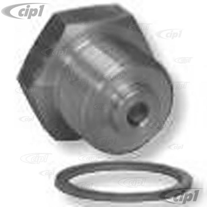 C31-115-431-400 – 17-2000CC TYPE-2 ENGINE PRESSURE RELIEF PLUG OIL TEMPERATURE ADAPTER PLUG - ALLOWS THE USE OF A VDO M14X1.5 SENDING UNIT