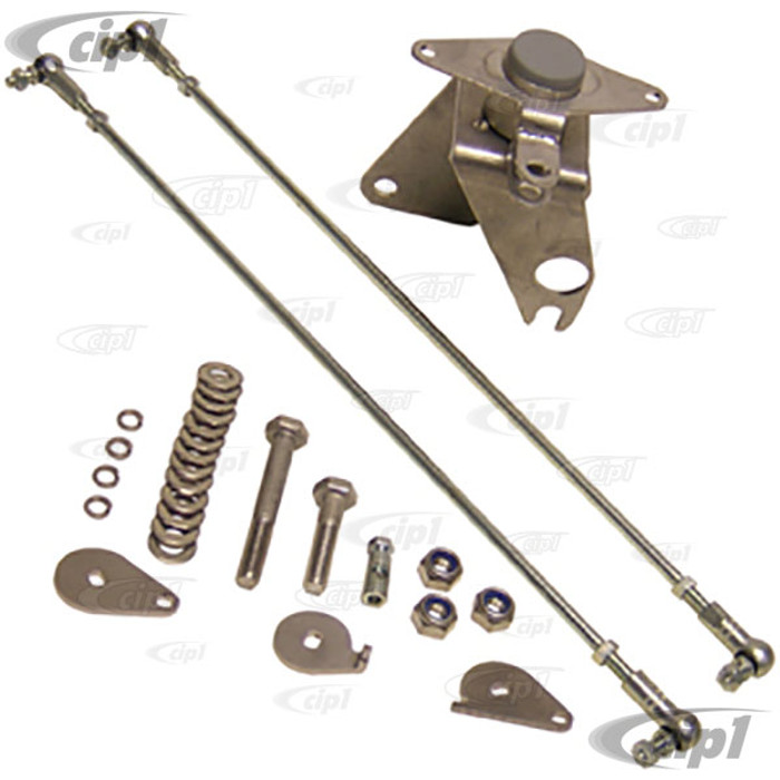 C31-129-941-100 - BEETLE STYLE ENGINE W/DUAL IDF STYLE CARB BELLCRANK LINKAGE KIT (FITS 911 STYLE WITH FAN SHROUD) - ALSO TYPE-3 W/IDF CARB. - SOLD KIT