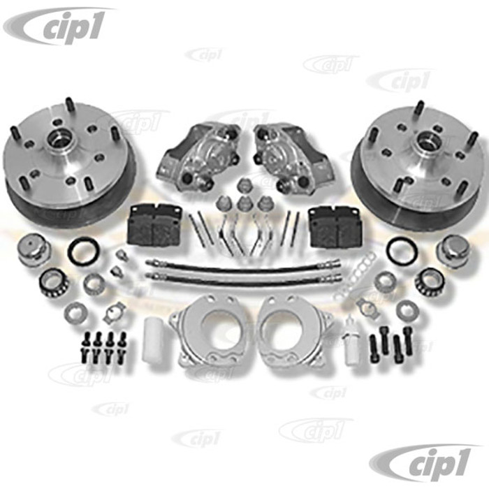 C31-499-263-5205-14 - CSP MADE IN GERMANY - BUS 55-63 WITH 14 OR 15 IN. STOCK STYLE STEEL WHEELS AND 15 IN. OR LARGER AFTERMARKET ALLOY WHEELS - 5X205MM BOLT-ON DISC BRAKE KIT - SOLD KIT