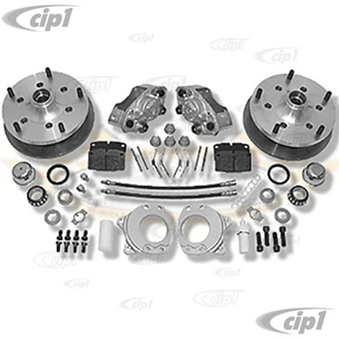 C31-499-264-5205 - CSP MADE IN GERMANY  - BUS 64-70 WITH 15 IN. OR LARGER ALLOY WHEELS (WILL NOT FIT STOCK STEEL WHEELS) - 5X205MM BOLT-ON DISC BRAKE KIT - (A50)