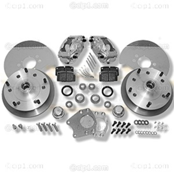 C31-499-327-5205 - CSP MADE IN GERMANY -  TYPE-3 62-68 5X205MM BOLT-ON DISC BRAKE KIT WITH 27MM INNER WHEEL BEARING - (A50)