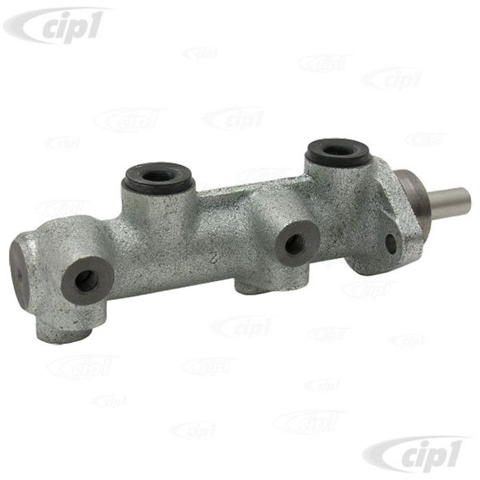 C31-611-015-000 - 20.6MM LARGE BORE H-D MASTER CYLINDER FOR ANY STD BEETLE/GHIA/VW THING WITH 4 WHEEL DISC BRAKES