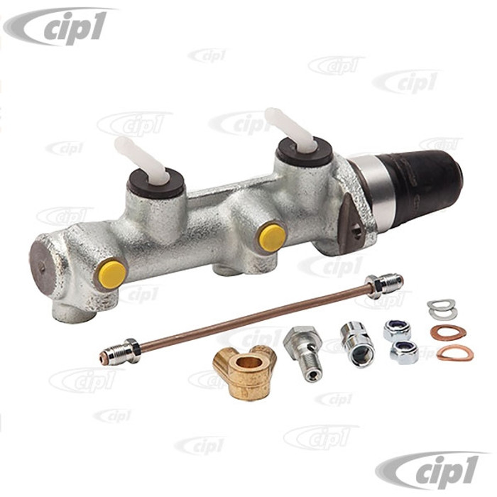 C31-611-015-356V - CSP GERMAN MADE PRODUCTS - 20.64MM DUAL CIRCUIT MASTER CYLINDER CONVERSION (A MUST WHEN 4 WHEEL DISC BRAKES ARE USED) - ALL YEARS OF PORSCHE 356 - SOLD KIT