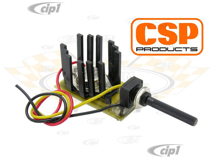 C31-955-531-113WC - CSP MADE IN GERMANY - WIPER MOTOR CONVERSION KIT - 6-VOLT UP TO 12-VOLT - ALL 6 VOLT MODELS