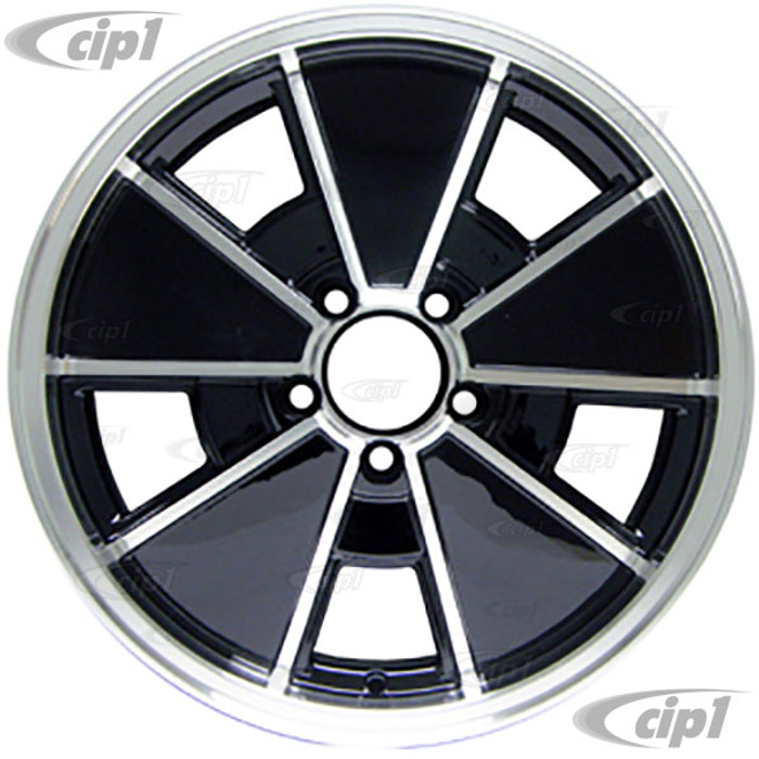 C32-BR1B-17 - BLACK BRM WHEEL -BUS 71-79 - VANAGON 80-92 - 17 IN. x 7 IN. WIDE (5X112MM) - ET40 - CENTER CAP AND MOUNTING HARDWARE IS SOLD SEPARATELY  - (A20)