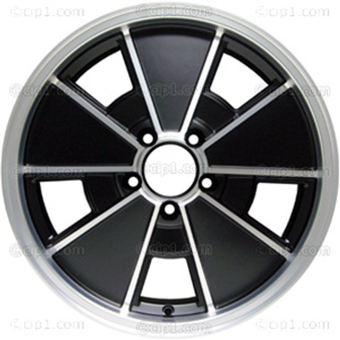 C32-BR1B-17MB - MATTE BLACK BRM WHEEL -BUS 71-79 - VANAGON 80-92 - 17 IN. x 7 IN. WIDE (5X112MM) - ET40 - CENTER CAP AND MOUNTING HARDWARE IS SOLD SEPARATELY  - (A20)
