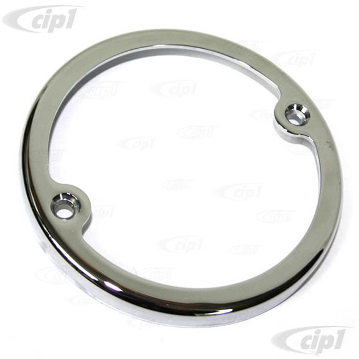 C33-S00598 - (211945117 - 211-945-117) - GERMAN QUALITY FROM C&C U.K. - CHROME TAIL LIGHT RING - BUS 58-61 - SOLD EACH