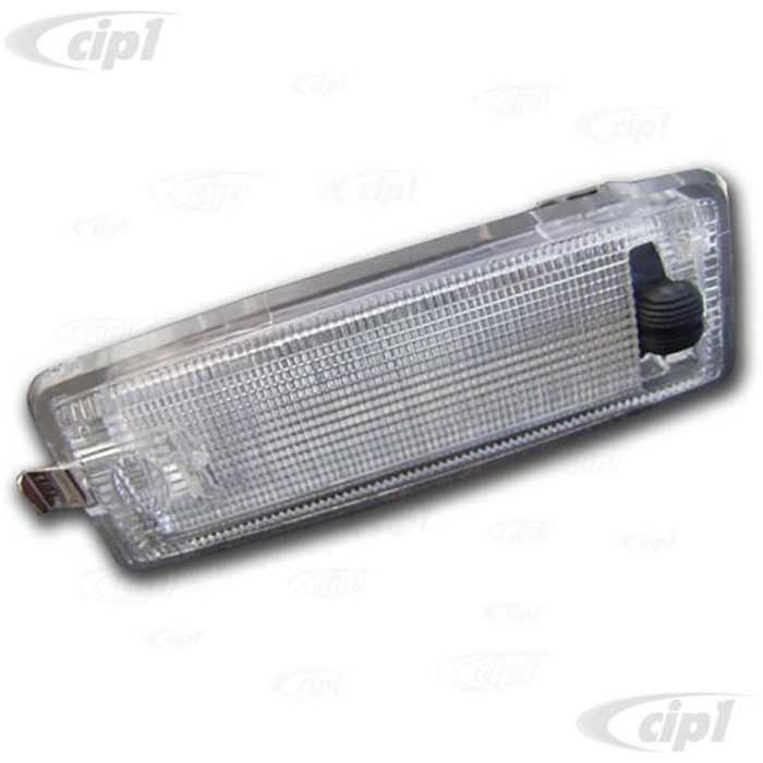 C33-S01795 - (823947105B - 823-947-105-B) - GERMAN QUALITY FROM C&C U.K. - INTERIOR LIGHT (BULB NOT INCLUDED - SEE VHD-N17-7232-10) - BUS 76-79 - VANAGON 80-91 - SOLD EACH