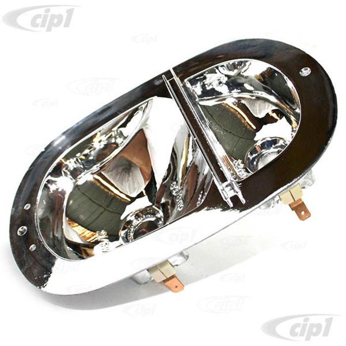C33-S33003 - (211945237J - 211-945-237J) - GERMAN QUALITY FROM C&C U.K. - CASE ALUMINUM TAIL LIGHT HOUSING - BUS 62-71 - SOLD EACH