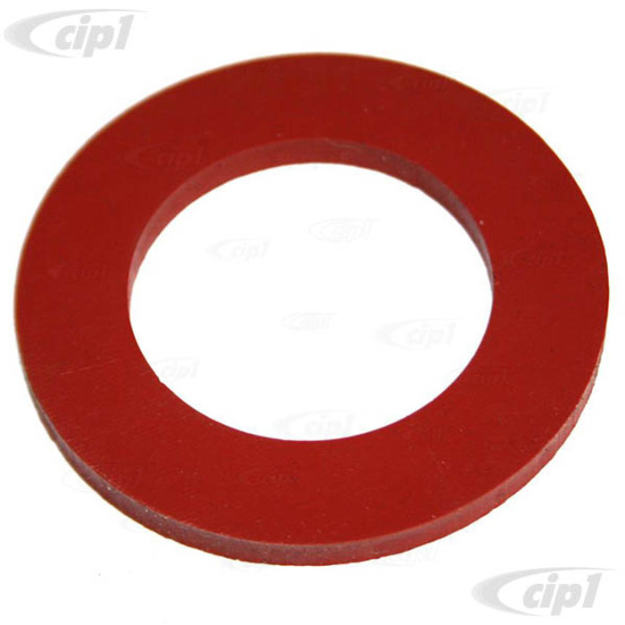 C33-S35625 - (111115487SI - 111-115-487SI) - GERMAN QUALITY FROM C&C U.K. - SILICONE OIL CAP GASKET ALL YEARS - SOLD EACH