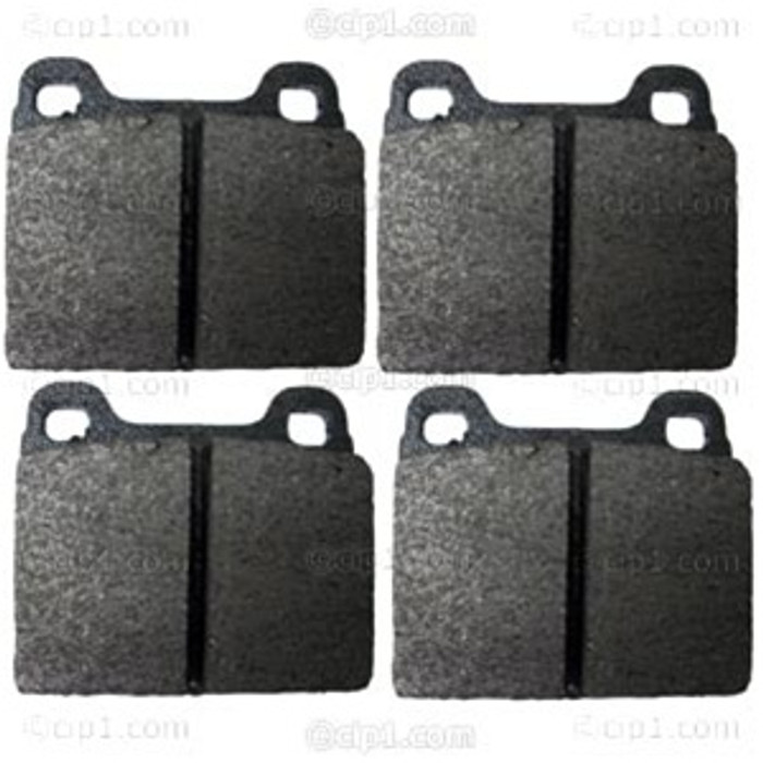 IBR-SM-7031-D96 - FRONT DISC BRAKE PADS - 4 PIECE SET - RABBIT 75-80