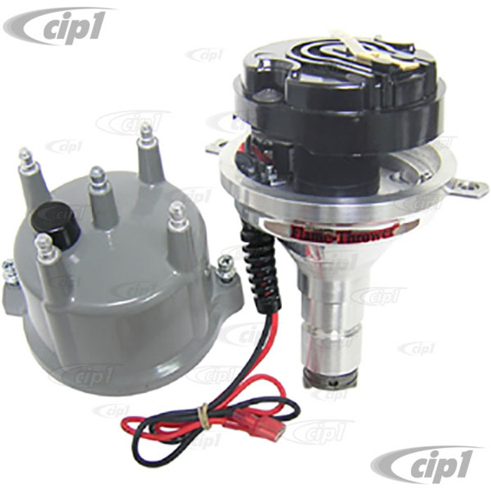 PER-D186813 - PERTRONIX BILLET VW DISTRIBUTOR WITH ORIGINAL IGNITOR MODULE (WITH GRAY CAP) - ALL BEETLE STYLE ENGINES
