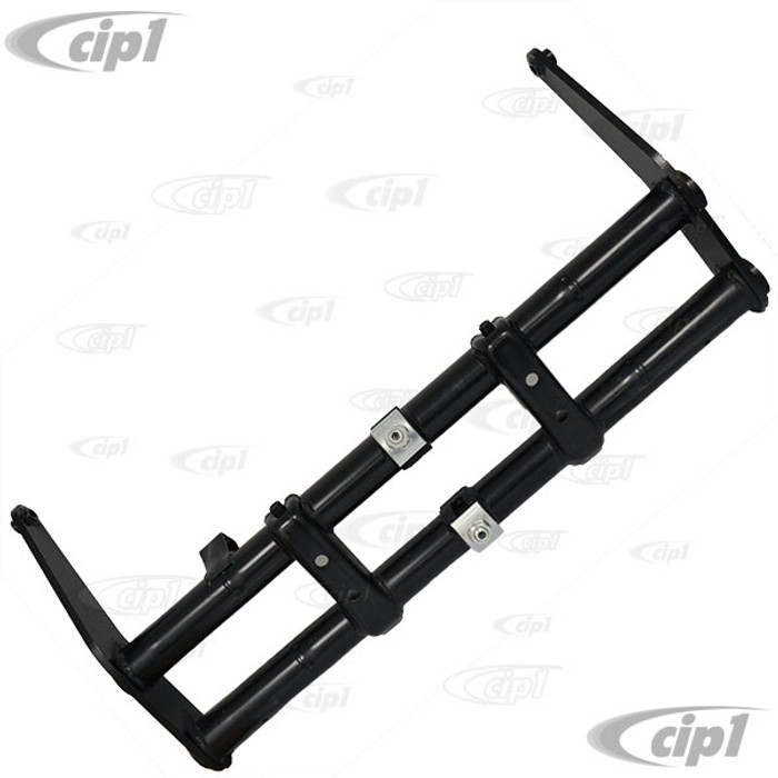 ACC-C10-4201 - (22-2818) 2 INCH NARROWED LINK PIN ADJUSTABLE LOWERED FRONT BEAM W/RATCHET STYLE ADJUSTERS - BEETLE 49-65 - GHIA 49-65 - SOLD EACH