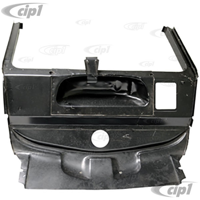 TAB-400-090 - (113-805-505-C 113805505C) FRONT INNER PANEL ASSEMBLY - SPARE TIRE WELL - STANDARD BEETLE 58-77 / GHIA 56-74 (WITH MOD'S) - SOLD EACH