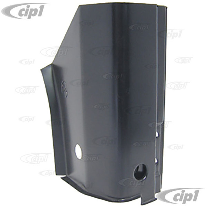 TAB-400-492 - (111-805-352-E 111805352E) ECONOMY QUALITY - A-POST DOOR 3 BOLT HINGE PILLAR LOWER REPAIR SECTION - RIGHT - 62-79 BEETLE - SOLD EACH