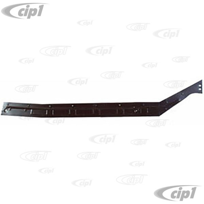 TAB-400-762 - (111-801-172C 111801172C) RIGHT - HEATER CHANNEL BOTTOM PLATE - STANDARD BEETLE 46-77 - SOLD EACH