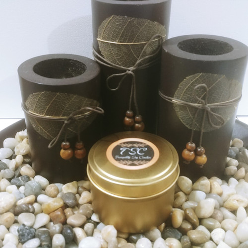 Travel Tin Gold 4oz Scented