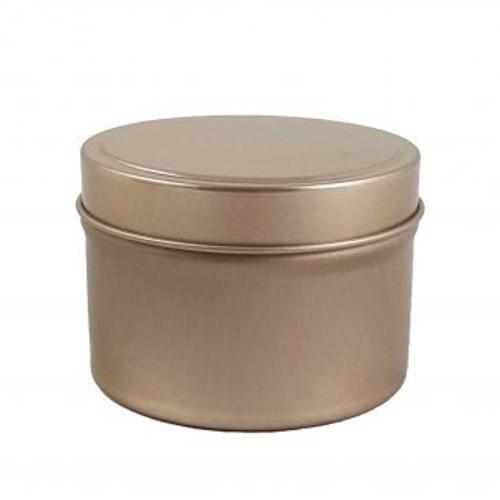 Bulk Buy 12 x Travel Tin Matte Black, White, Copper or Silver 8oz Scented